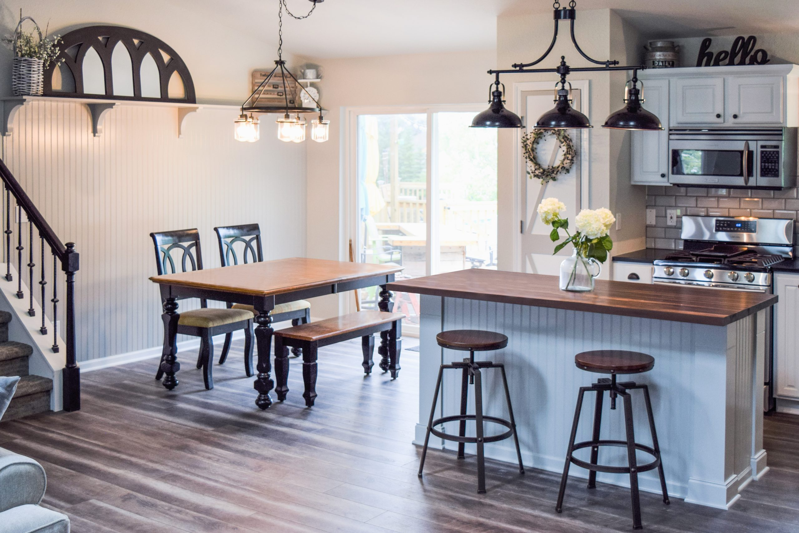 Tennessee Farmhouse Kitchen - Full View